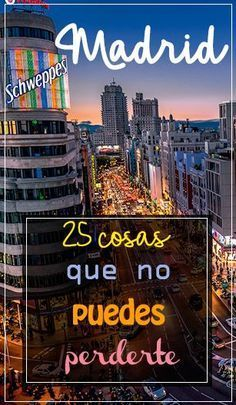 25 things to see and do if you go to Madrid # Spain # GranVía # Travel … -… – Travel and Tourism Trends 2019 Travel Goals, Travel Advice, Travel Tips, Travel Around The World, Around The Worlds, Travel Pictures Poses, Madrid Travel, Morocco Travel, Travelling Tips