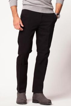 Pantolon - Boru Paça Chino Pantolon