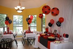 ladybug party ideas | Party Tinkers: Catherine's 3rd Birthday Ladybug Party