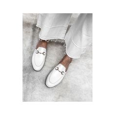 94d4dbb47e5 Obsessed with Gucci loafers at the Moment White Gucci Loafers