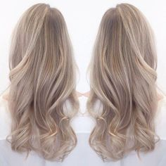 Golden Blonde Balayage for Straight Hair - Honey Blonde Hair Inspiration - The Trending Hairstyle Brown Ombre Hair, Ombre Hair Color, Cool Hair Color, Grey Ombre, Beige Hair, Purple Hair, Black Hair, Hair Colour, Blonde Balayage Highlights