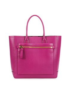 Tote Bag, Magenta by Tom Ford at Neiman Marcus.
