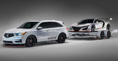 Acura NSX GT3 Getting Towed To SEMA By 2017 MDX #Acura #Acura_Concepts