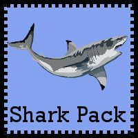 FREE Shark Pack Update - Over 45 pages added with Math and Language Activities for ages 4 through 9 - 3Dinosaurs.com