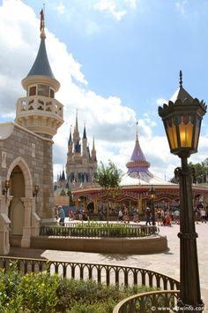 Fantasyland, Magic Kingdom Park. Walt Disney World Resort, Bay Lake, Florida, United States of America.