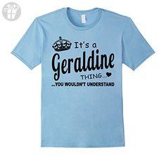 Mens Geraldine You Wouldn't Understand Birthday T-Shirt Small Baby Blue - Birthday shirts (*Amazon Partner-Link)
