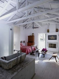 exposed beams, my fave