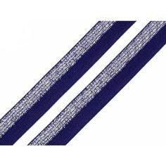 Schrägband elastisch 17mm – navy Tie Clip, Tie Pin