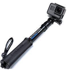 SANDMARC Pole Compact Edition 1025 Telescoping Pole Selfie Stick for GoPro Hero 5 Black Hero 4 Hero 5 Session Hero 3 2 and HD Cameras -- For more information, visit image link. Gopro Hero 5, Gopro Photography, Underwater Photography, Gopro Fotografie, Gopro Camera, Leica Camera, Nikon Dslr, Film Camera, Microsoft
