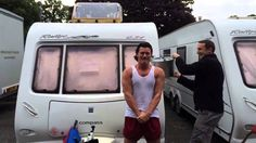 Luke Evans (from Fast Six) Ice Bucket challenge for ALS
