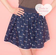 Mini Skirt DUCK FAMILY von DasPinkeZimmer auf DaWanda.com