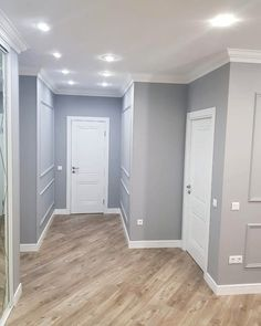 flooring with grey walls , 57 (dom - House Design, Room Design, House, Living Room Color, Home, Home Remodeling, House Interior, Home Interior Design, Living Room Designs