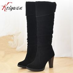 ==> [Free Shipping] Buy Best Hot Sale Russia Autumn And Winter women Boots lady Fashion Stylish female thin high heels Boots ladies Shoes Free Shipping Online with LOWEST Price | 32372636512
