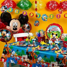 mickey mouse balloons - Bing Images