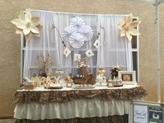 Rustic and Vintage baby shower Baby Shower Party Ideas | Photo 3 of 8 | Catch My Party
