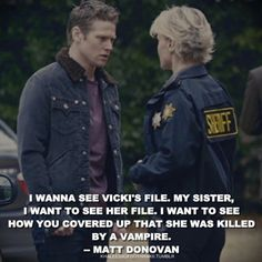 Sheriff Liz Forbes - TVD - The Vampire Diaries