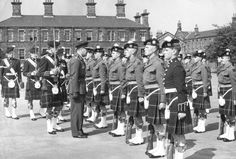 THIS is supposed to be a joyous occasion but still looks very serious. This is the passing out parade at Maryhill Barracks in Glasgow for the… Scottish Army, Scottish Words, British Army, Glasgow Scotland, Future City, Black And White Pictures, Ireland, Rangers Fc, Culture