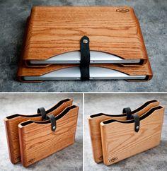 \\ wood MacBook Pro covers