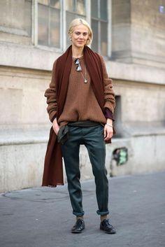 Paris Fashion Week H/W 2015/16: Paris Street Style   Harper's BAZAAR
