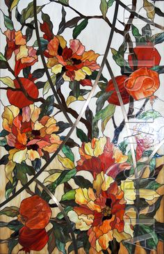 Stained glass ceiling Blooming grenades
