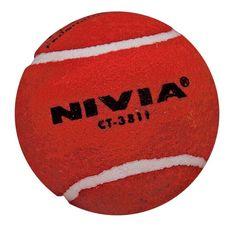 Nivia Heavy Tennis Cricket Red Ball 12Pcs