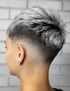 26 Classy Pixie Haircut for Thick Hair and Thin Hair - The First-Hand Fashion News for Females Pixie Haircut For Thick Hair, Short Hair Undercut, Short Pixie Haircuts, Undercut Hairstyles, Pixie Hairstyles, Short Hairstyles For Women, Female Undercut, Haircut Long, Short Hair Cuts For Women