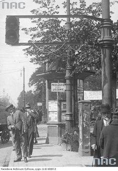 Black White Photos, Black And White, Krakow, Old City, Kiosk, Vintage Photographs, World War Two, Homeland, The Past