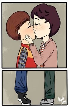 Image result for byler fanart