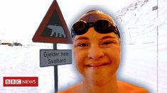 The teenager with Down's syndrome swimming in the Arctic - BBC News Swimming Champions, Down Syndrome People, Human Settlement, Learn To Swim, Syrian Refugees, Special Olympics, Uk News, Cool Watches, Arctic