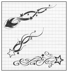 sketches of shooting stars and moons | Under Breast Tattoo Quotes Biomechanical Sleeve Symbol Tattoos Ha The