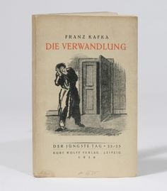 Die Verwandlung [The Metamorphosis], First Ed.