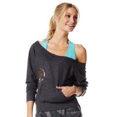 Print Perfect Boatneck Sweater   Zumba Fitness Shop