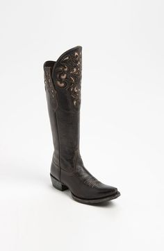 Soooooo gorgeous only probably in brown >>>>> Ariat+'Hacienda'+Boot+available+at+#Nordstrom