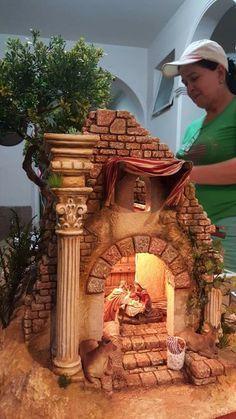Jeannie Loader Fleury's media statistics and analytics – BuzzTMZ Christmas Crib Ideas, Christmas Time, Christmas Crafts, Christmas Decorations, Xmas, Christmas Ornaments, Holiday, Merry Christmas, Diy Nativity