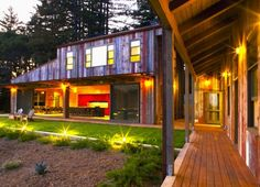 Aptos Retreat is a Cozy California Home Wrapped in Reclaimed Barn Wood and Corten Steel | Inhabitat - Sustainable Design Innovation, Eco Architecture, Green Building