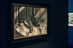 Horst P. Horst, New York Still Life, 1946 printed 1985. Platinum Palladium print on canvas, from edition of 5. Nel bellissimo spazio di Hamiltons Gallery. Paris Photo 2014. Foto Carlo Chiavacci.