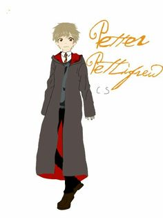 Petter Pettigrew:drawn by me Peter Pettigrew, Harry Potter Characters, Fictional Characters, The Marauders, Drawings, Anime, Art, Art Background, Kunst