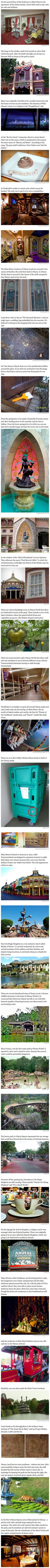 25 secret things most people dont know about Disney parks. The next time that you visit Disney, knowing these secrets will give you an entirely new perspective.