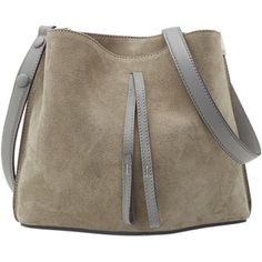 Maison Margiela Small Bucket Suede Shoulder Bag