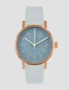 Blue & copper watch | Void