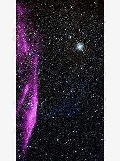 G266.2-1.2 - O objeto brilhante que você vê na imagem foi produzido pela explosão de uma estrela massiva na Via Láctea.