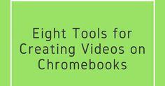 A couple of days ago Tony Vincent Tweeted my list of tools for creating videos on Chromebooks. That list was last updated in November. Tony's Tweet prompted me to update the list again. The notable differences between this list and the last one is that I've removed Wideo because that service no longer offers any free options for teachers or students. I've also added three new tools in Sharalike CaptureCast and Magisto.Adobe Sparkis a suite of free tools for creating images videos and simple…