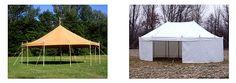 BIZON-STANY výroba prodej pronájem: týpí / historické stany / prodejní stánky / velkoprostorové stany / áčka / jurty