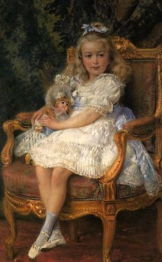 Portrait of a Girl (based on Grand Duchess Maria, the third daughter of Tsar Nicholas II), Painting by Konstantin Egorovich Makovsky, which is currently on display in the Hermitage Museum,. Alexandra Feodorovna, Grand Duchess Olga, House Of Romanov, William Adolphe Bouguereau, Tsar Nicholas Ii, Hermitage Museum, William Turner, Imperial Russia, Russian Art