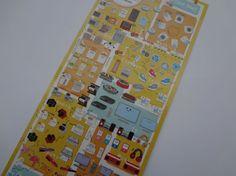 Kamio Japan kawaii Petit Mark HOME ELECTRONICS sticker sheet by kawaiistickers4you on Etsy https://www.etsy.com/listing/221019778/kamio-japan-kawaii-petit-mark-home