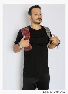 • NEW COLLECTION •   T-shirt Mod. VING - 708  Model: Glori Velko  Contact: vekoss4@gmail.com