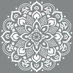 mandala stencils for furniture - Google Search