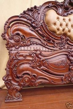 Carving bed srsfurniture