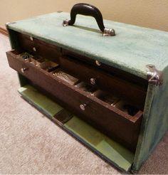 toolbox to jewelry box.  Who wudda thunk?