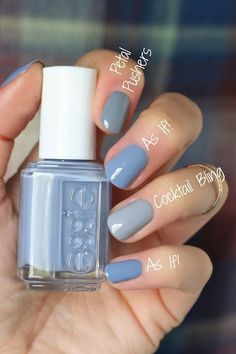 If you are a big fan of manicure, you can not miss the Essie brand. Manicure, Diy Nails, Cute Nails, Pretty Nails, Colorful Nail Designs, Nail Art Designs, Nails Design, Summer French Nails, Summer Nails